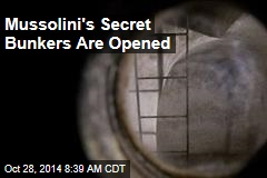 Mussolini's Secret Bunkers Are Opened