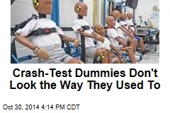 As Americans Get Fatter, So Do Crash-Test Dummies