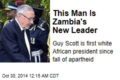 This Man Is Zambia's New Leader
