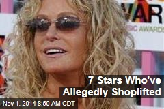 7 Stars Who've Allegedly Shoplifted