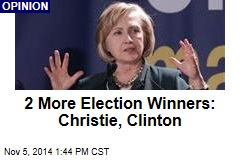 2 More Election Winners: Christie, Clinton