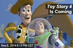 Toy Story 4 Is Coming