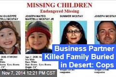 Cops: Business Partner Killed Family of 4