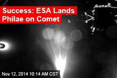 Spacecraft Begins Descent to Comet