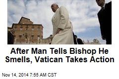 Vatican Installs Public Showers For Homeless, Pilgrims