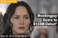 Mockingjay Soars to $123M Debut*