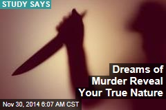 Dreams of Murder Reveal Your True Nature