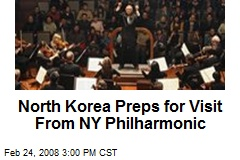 North Korea Preps for Visit From NY Philharmonic