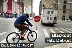Blackout Hits Detroit