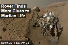 Curiosity Finds More Clues to Martian Life