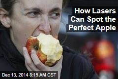 How Lasers Can Spot the Perfect Apple