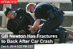 Crash Sends Panthers' QB Cam Newton to Hospital