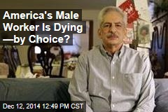 America's Male Worker Is Dying —by Choice?