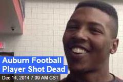 Auburn Football Player Shot Dead
