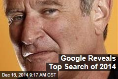 Google Reveals Top Search of 2014