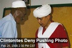 Clintonites Deny Pushing Photo