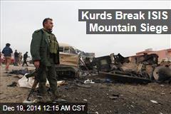 Kurds Break ISIS Mountain Siege