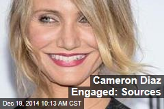 Cameron Diaz Engaged: Sources