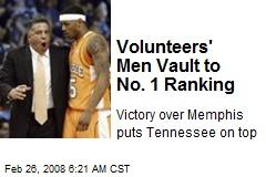 Volunteers' Men Vault to No. 1 Ranking