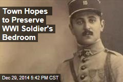 Town Hopes to Preserve WWI Soldier's Bedroom