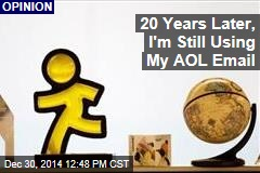 20 Years Later, I'm Still Using My AOL Email