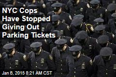 NYC Cops Have Stopped Giving Out Parking Tickets