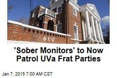 'Sober Monitors' to Now Patrol UVa Frat Parties