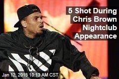 5 Shot During Chris Brown Nightclub Appearance