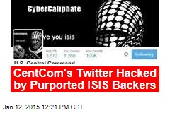 CentCom's Twitter Hacked by Purported ISIS Backers