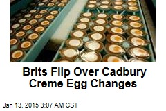 Brits Flip Over Cadbury Creme Egg Changes