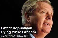 Latest Republican Eying 2016: Graham