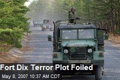 Fort Dix Terror Plot Foiled
