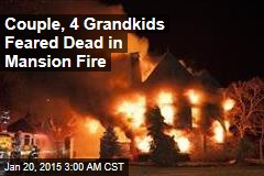 6 Feared Dead in Maryland. Mansion Fire
