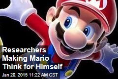 Researchers Making Mario Think for Himself