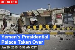 Yemeni President's Home Being Shelled