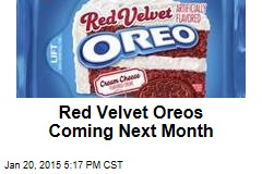 Red Velvet Oreos Coming Next Month