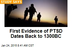 First Evidence of PTSD Dates Back to 1300BC