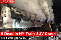6 Dead in NY Train-SUV Crash
