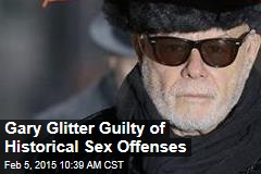 Gary Glitter Guilty of Historical Sex Offenses