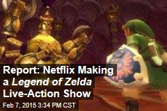 Report: Netflix Making a Legend of Zelda Live-Action Show