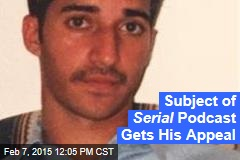 Subject of Serial Podcast Gets His Appeal