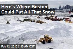 Snow-Choked Boston: Where Do We Stash the White Stuff?