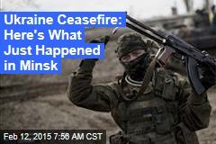 Putin: Ukraine Peace Deal Reached