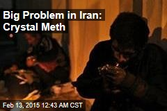Big Problem in Iran: Crystal Meth