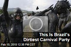 This Is Brazil's Dirtiest Carnival Party