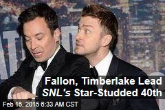 Fallon, Timberlake Kick Off SNL's Star-Studded 40th