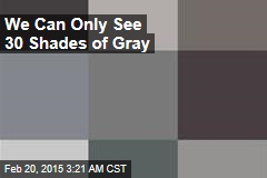We Can Only See 30 Shades of Gray