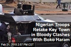 Nigerian Troops Retake Key Town in Bloody Clashes With Boko Haram