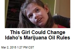 This Girl Could Change Idaho's Marijuana Oil Rules