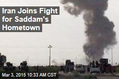 Iran Joins Fight for Saddam's Hometown